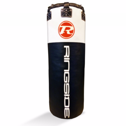 Ringside Jumbo Synthetic Leather Punchbag - Black/White
